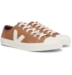 Veja - Wata Rubber-Trimmed Suede Sneakers