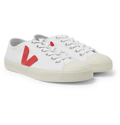 Veja - Wata Rubber-Trimmed Organic Canvas Sneakers