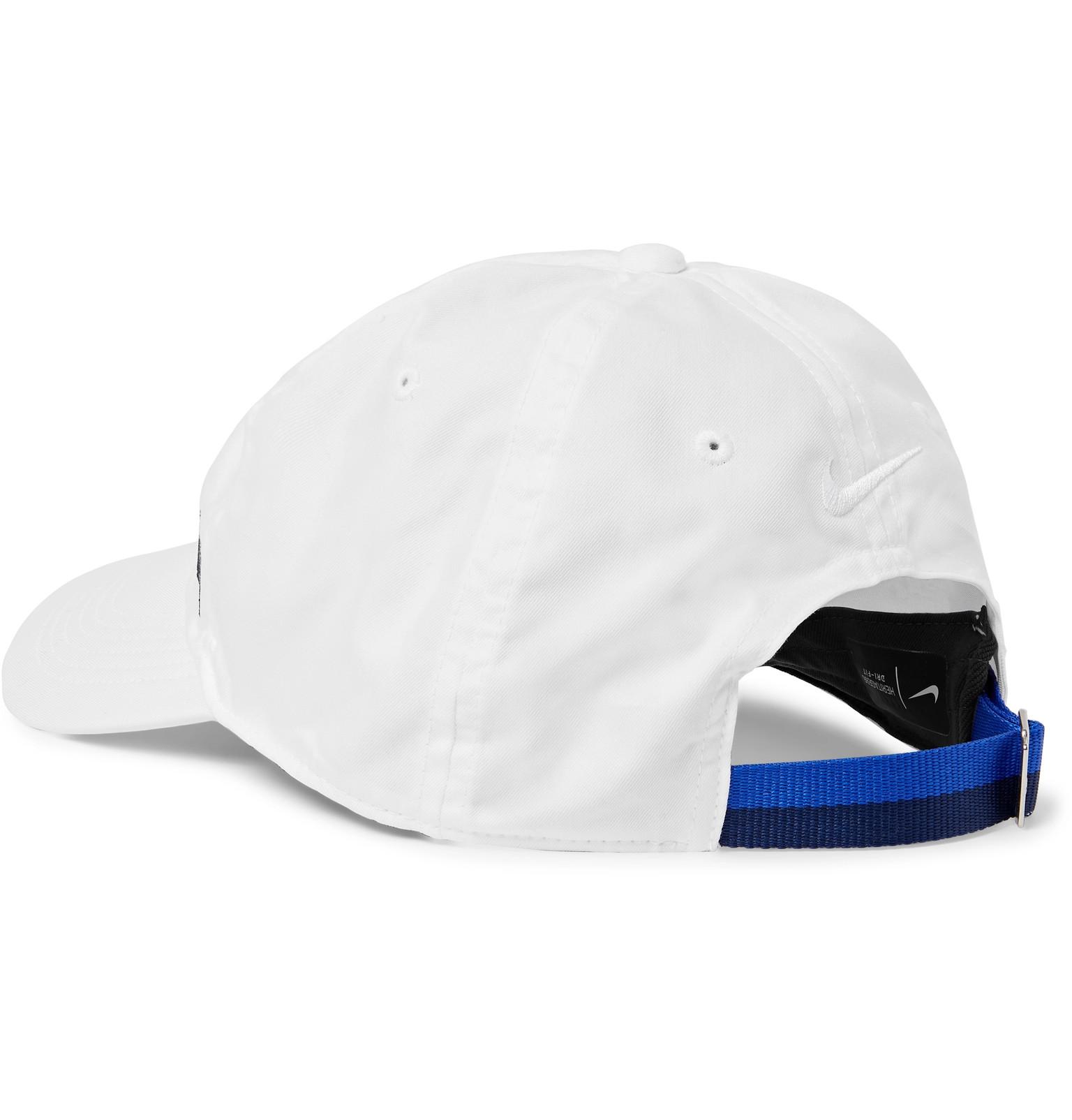 19cd383fa901b Nike Tennis - Roger Federer AeroBill Heritage 86 Dri-FIT Tennis Cap