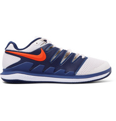 Nike Tennis Air Zoom Vapor X Mesh and Rubber Tennis Sneakers