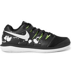 Nike Tennis - NikeCourt Air Zoom Vapor X Premium Rubber and Mesh Sneakers
