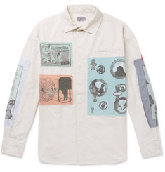 Cav Empt Commodification Appliquéd  Cotton Shirt