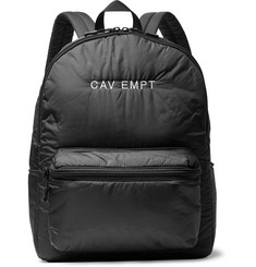 Cav Empt Logo-Embroidered Shell Backpack