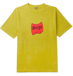 Cav Empt Design Printed Cotton-Jersey T-Shirt
