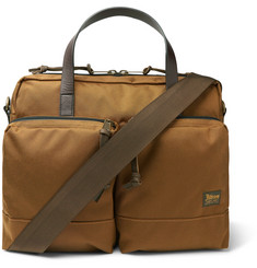 Filson - Dryden Leather-Trimmed Nylon Briefcase