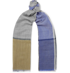 Begg & Co - Wispy Fringed Cashmere Scarf
