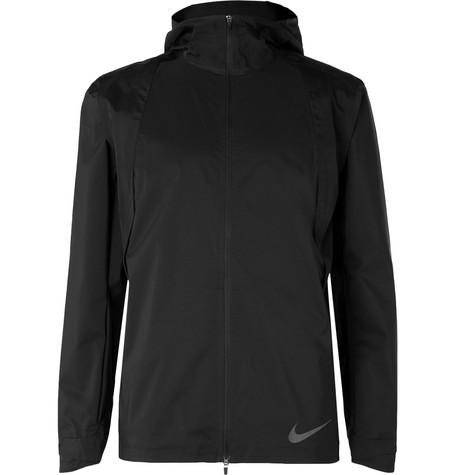 Jacket Aeroshield Zonal Nike Black Hooded Shell qRg6gw8t