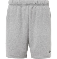 Nike Training Mélange Dri-FIT Fleece Shorts