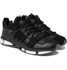 adidas Originals - Twinstrike ADV Leather and Suede Sneakers