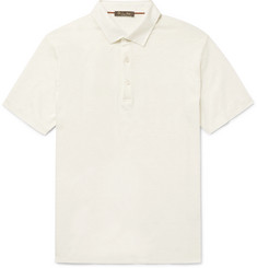 Loro Piana Linen Polo Shirt