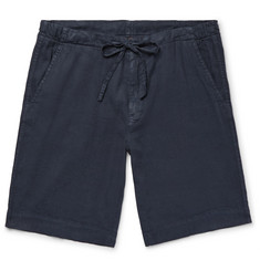 Loro Piana Stretch Linen and Cotton-Blend Drawstring Shorts