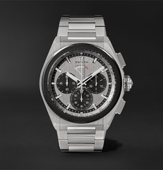 Zenith - Defy El Primero 21 Automatic Chronograph 44mm Brushed-Titanium Watch, Ref. No. 95.9005.9004/01.M9000