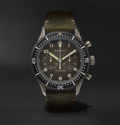 Zenith Pilot Cronometro TIPO CP-2 Automatic 43mm Stainless Steel and Nubuck Watch, Ref. No. 11.2240.405/21.