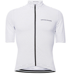 Cafe du Cycliste - Striped Cycling Jersey
