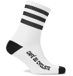 Cafe du Cycliste - Striped Cycling Socks