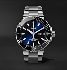 Oris - Aquis Big Day Date Automatic 45.5mm Stainless Steel Watch