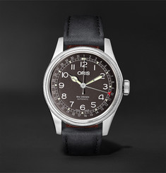 Oris Big Crown Pointer Date Automatic 40mm Stainless Steel and Leather Watch