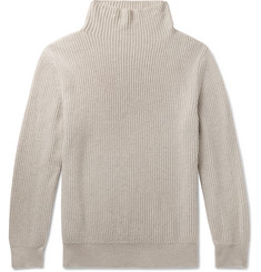 The Row - Jackson Ribbed Cashmere Rollneck Sweater