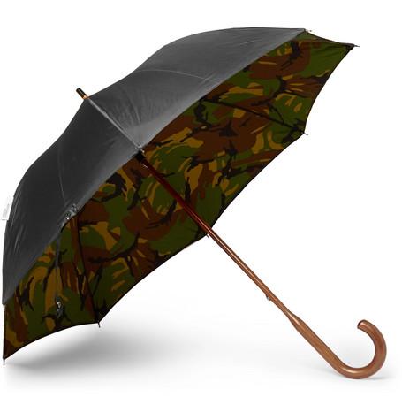 British Woodland Maple Wood-handle Umbrella