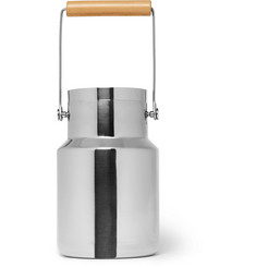 L'Atelier du Vin Stainless Steel and Beech Timbale Bucket