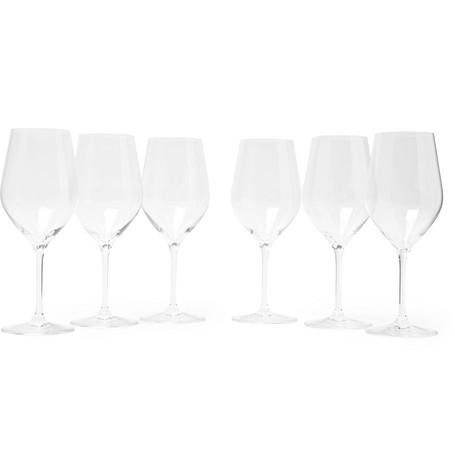 L'ATELIER DU VIN Good Size N&Deg;2 Set Of Six Wine Glasses in Clear