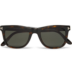 TOM FORD - D-Frame Tortoiseshell Acetate Polarised Sunglasses