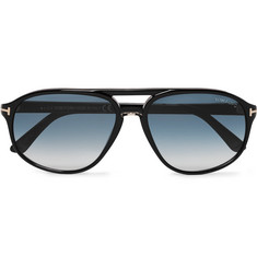 TOM FORD Jacob Aviator-Style Acetate Sunglasses