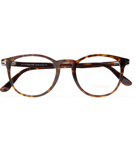 99a9b964bb TOM FORD - Round-Frame Tortoiseshell Acetate Optical Glasses