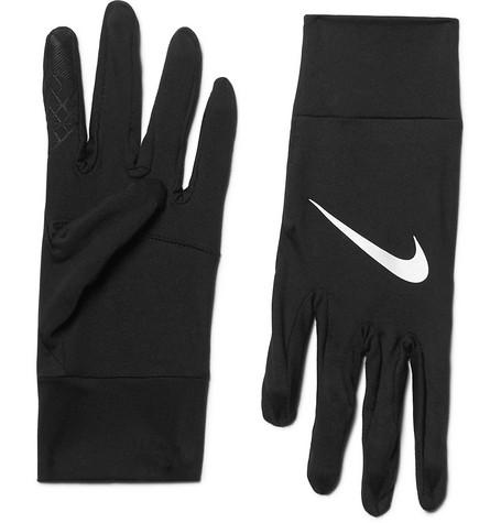 Nike – Element Dri-fit Stretch-jersey Gloves – Black