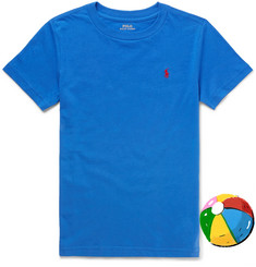 Polo Ralph Lauren Boys Ages 8 - 10 Cotton-Jersey T-Shirt