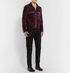 TOM FORDSlim-Fit Suede Blouson Jacket