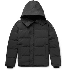 Canada Goose MacMillan Slim-Fit Quilted Shell Hooded Down Parka