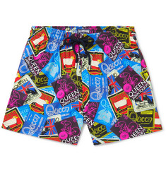 Vilebrequin - Moonrise Mid-Length Printed Swim Shorts