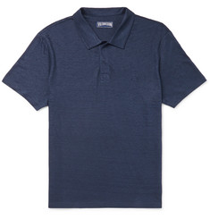 Vilebrequin - Pyramid Slim-Fit Linen-Jersey Polo Shirt