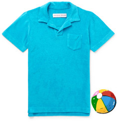 Orlebar Brown Boys Ages 4 - 12 Digby Cotton-Terry Polo Shirt