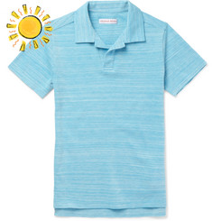 Orlebar Brown Boys Ages 4 - 12 Freddy Cotton-Piqué Polo Shirt