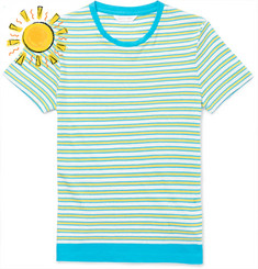 Orlebar Brown Boys Age 4 - 12 Jimmy Striped Cotton and Linen-Blend T-Shirt