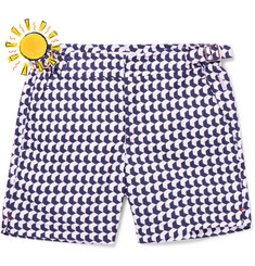 Orlebar Brown - Boys Ages 4 - 12 Russell Aruba Printed Shell Swim Shorts