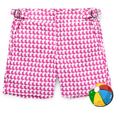 Orlebar Brown Boys Ages 4-12 Russell Aruba Printed Shell Swim Shorts