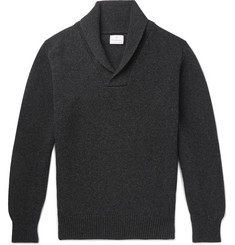 Kingsman - Shawl-Collar Wool and Cashmere-Blend Sweater