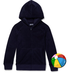 Vilebrequin Boys Ages 2 - 12 Appliquéd Cotton-Blend Terry Zip-Up Hoodie