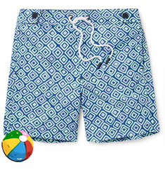 Frescobol Carioca Boys Ages 2 - 8 Angra Printed Shell Swim Shorts