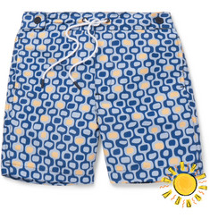 Frescobol Carioca Boys Ages 2 - 8 Ipanema Printed Swim Shorts