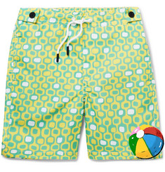 Frescobol Carioca Boys Ages 2 - 8 Ipanema Printed Shell Swim Shorts