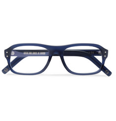 Kingsman - + Cutler and Gross Eggsy's Square-Frame Acetate Optical Glasses