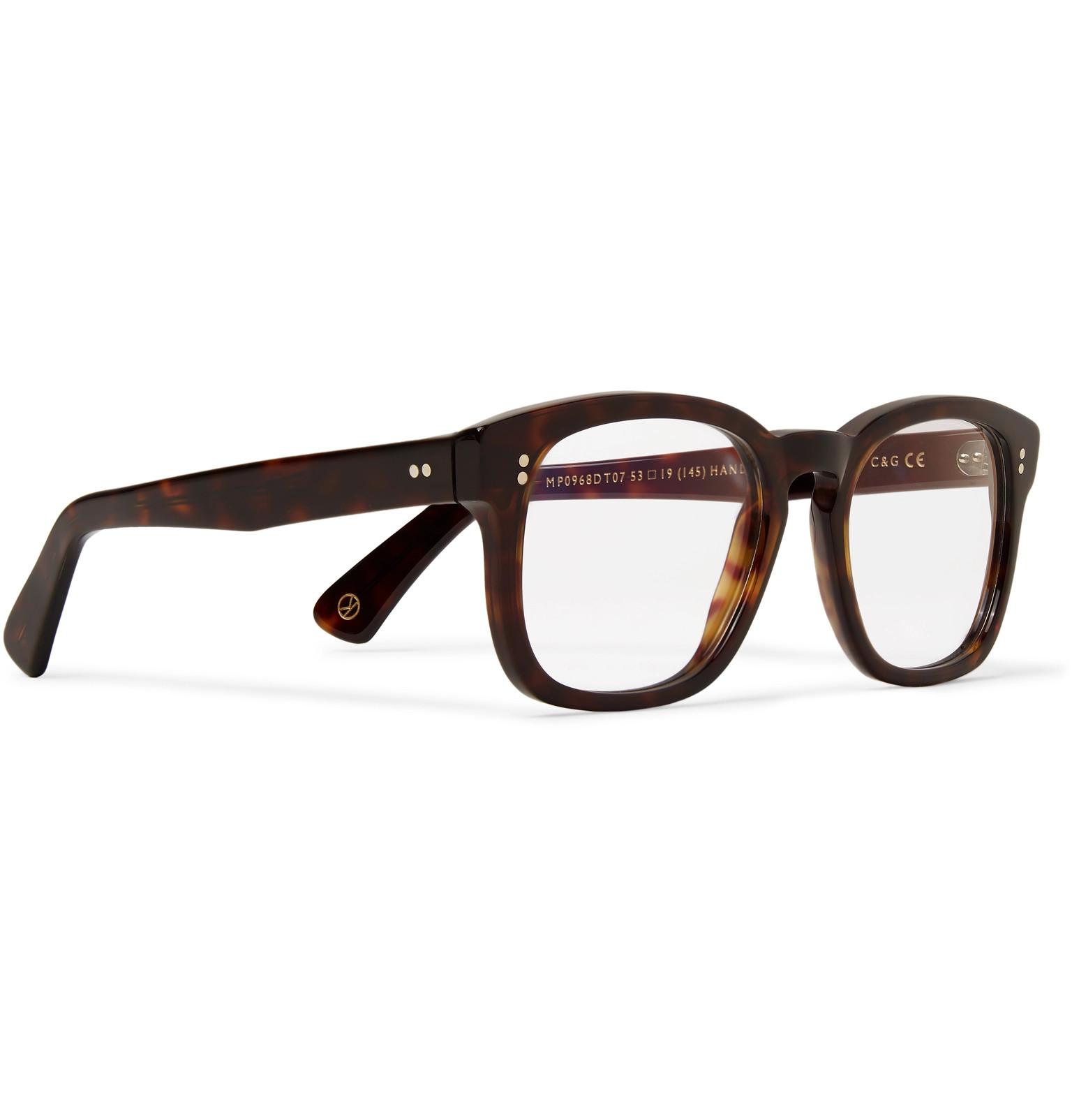 e67e54cd81 Kingsman+ Cutler and Gross D-Frame Tortoiseshell Acetate Optical Glasses