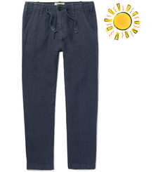 Hartford Boys Ages 2 - 12 Linen-Chambray Drawstring Trousers