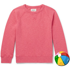 Hartford Boys Ages 2 - 12 Mélange Loopback Cotton-Jersey Sweatshirt