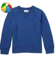 Hartford Boys Ages 2 - 12 Loopback Cotton-Jersey Sweatshirt