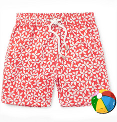 Hartford - Boys Ages 2 - 12 Printed Shell Swim Shorts